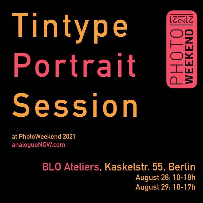 Tintype Portrait Session